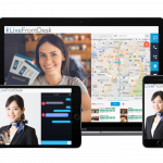 民泊や宿泊事業者向けに遠隔対面フロントデスクを提供できる「LiveFrontDesk」をリリース